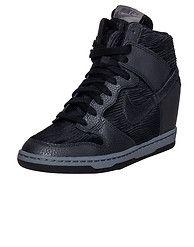 0db6c0309bf NIKE SPORTSWEAR DUNK SKY HI WEDGE SNEAKER Black Wedge Sneakers