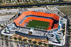 Miami Dolphins Stadium. Saw Marino play one of the first games of his last season here against Pittsburgh. - m
