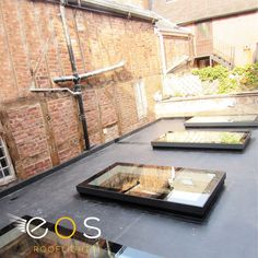 Rooflights are an ideal way to increase natural light into the room below. They not only allow you to reduce your dependency on artificial lighting but also encourage energy efficiency in the property. #rooflights #skylights #flatrooflights #eosrooflights