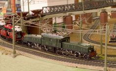 """Märklin 3015 Elektrische locomotief van de Zwitserse Spoorwegen SBB met de bijnaam """"Krokodil""""."""