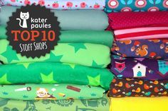Top 10 Montag! Die schönsten Stoff-Shops
