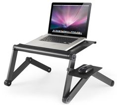 WorkEZ Cool Ergonomic Laptop Cooling Stand Standing Desk table tray