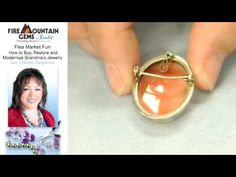 Flea Market Fun: How To Buy, Restore and Modernize Grandma's Jewelry with Doreen Stephens.