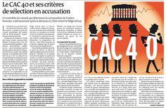 Les critères de sélection du CAC40 en question...