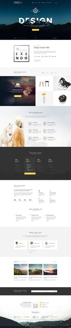 Business WP Theme #CREATIVE More