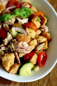 Panzanella mit Thunfisch – Flavoured with Love
