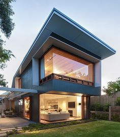Coogee House by Tanner Kibble Denton Architects by Home Adore, via Behance