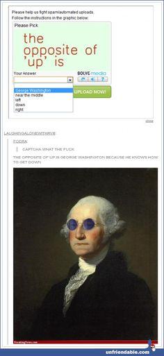 George knows