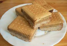 Karamell-kekszes szelet Biscuits, Sweets, Cookies, Food, Caramel, Crack Crackers, Crack Crackers, Gummi Candy, Candy