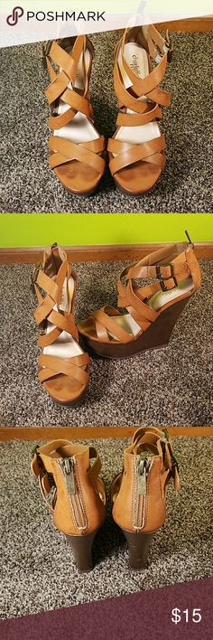 Charlotte Russe wedges size 6 Charlotte Russe wedges size 6 Charlotte Russe Shoes Wedges
