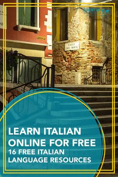 Want to learn how to speak Italian? These free online Italian language lessons are a great place to start. Audio, video and written Italian lessons. Italian Grammar, Italian Vocabulary, Italian Phrases, Italian Words, Italian Language, Korean Language, Japanese Language, Italian Lessons, French Lessons