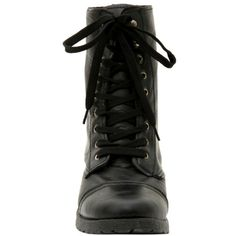 Black Floral Lined Combat Boot | Hot Topic (130 RON) ❤ liked on Polyvore featuring shoes, boots, lace front boots, army combat boots, lace up combat boots, laced up combat boots and lacing combat boots