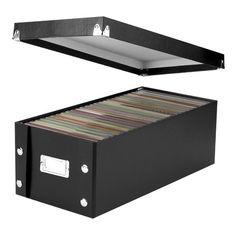 IdeaStream Snap-N-Store DVD Storage Box Media storage box Dvd Storage Boxes, Media Storage, Plastic Storage, Storage Containers, Storage Ideas, Game Storage, Hidden Storage, Organizing Your Home, Home Organization