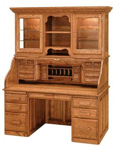 Solid Wood Office Desk With Hutch - Office desks are the most important part of a office. Office Desk With Hutch, Wood Office Desk, Computer Desk With Hutch, Wood Desk, Home Office Desks, Home Office Furniture, Desk Hutch, Computer Desks, Top Computer