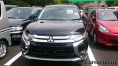 Updated 2018-2019 Mitsubishi Outlander PHEV photographed without camouflage