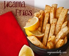 Healthy Snacks – Spicy Jicama Fries - gluten free