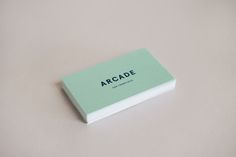 Arcade business cards --- chelsey dyer