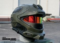 HALO Recon Helmet Replica by JohnsonArms on DeviantArt
