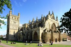 Take a Red Coat tour around the historic sites of Exeter including Exeter Cathedral.