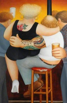 Welcome to the Beryl Cook shop. We stock the definitive collection of Beryl Cook Limited editions and other Beryl Cook prints. Beryl Cook, Sculpture Textile, Kitsch, Plus Size Art, Fat Art, English Artists, British Artists, Art Uk, Fat Women