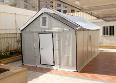 Ikea's flat-pack refugee shelters go into production.