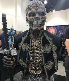 Arte Horror, Horror Art, Cosplay Makeup, Costume Makeup, Skull Design, Mask Design, Dark Fantasy Art, Dark Art, Skull Artwork