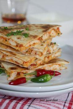 quesadilla - use corn tortillas to be gluten-free