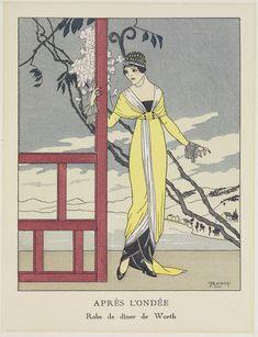 Après L'Ondee | Alberto-Fabio Lorenzi | V&A Search the Collections  1913