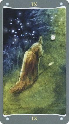 The Hermit - Fairy Lights Tarot