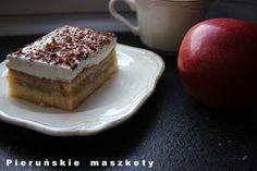 Pieruńskie maszkety - blog kulinarny: Jabłecznik z polskich jabłek - prosty przepis /z j...