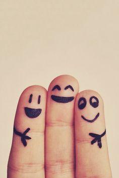 Tu sorridi, io sorrido!