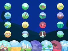 Landscape Illustrations Sketch freebie - Download free resource for Sketch - Sketch App Sources