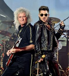 Queen   Adam Lambert At The Forum - Pictures - Zimbio
