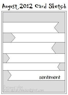 August 2012 Card Sketch - Scrapbook.com