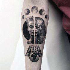 Desenhos de Tatuagem de Labirinto para Homens | Fotos de Tatuagens