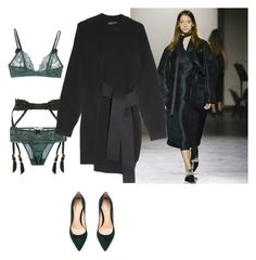 """""""Untitled #264"""" by astrro on Polyvore featuring STELLA McCARTNEY, Agent Provocateur, Gianvito Rossi and Proenza Schouler"""