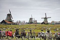 Zaanse Schans, Netherlands.  One of my favorite places we visited on our trip to Holland.