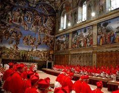 Conclave en la Capilla Sixtina - curiosidades