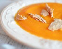 soupe courge foie gras