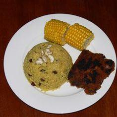 Indian-Style Rice with Cashews, Raisins and Turmeric Allrecipes.com