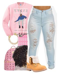 """""""Untitled #1553"""" by renipooh ❤ liked on Polyvore featuring Ileana Makri, Casetify, MCM, Timberland and Vivienne Westwood"""