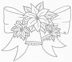 Poinsettias bow