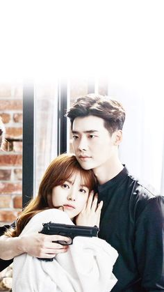 Lee Jong Suk and Han HYO Joo - Kdrama - W (Two Worlds)