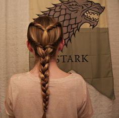 ladollyvita33:  Game of Thrones: Sansa Inspired Braid