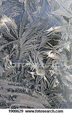Frosted windowpane