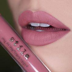 Stila All Day Liquid Lipstick :: FIRENZE Like & Repin. Noelito Flow instagram http://www.instagram.com/noelitoflow