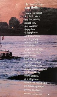 Digitale Bibliotheek: 4apr16 Denkend aan Holland/ Thinking of Holland im...