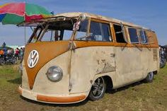 volkswagen bus t1...my man says he'd drive this bus all day long!  (so would I!!)