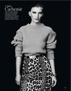 nuevo codigo: valerija kelava by hasse nielsen for vogue spain september 2013 #fashion #photography #editorial