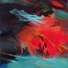 "Saatchi Art Artist Ute Laum; Painting, ""Kleine Zuneigung (Little affection)"" #art"